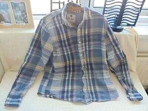 Fat Face Multi Coloured Check Shirt. Long Sleeve. 100% Cotton. Size 'L' Large.