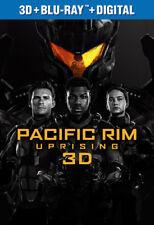 Pacific Rim Uprising [New Blu-ray 3D] 3D