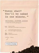 Frank Body Original Coffee Scrub.7.05 Oz e 200 g~ New & Vegan Friendly.