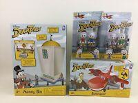 Disney Duck Tales Huey Dewey Louie with Money Bin Sunchaser and McQuack Sealed
