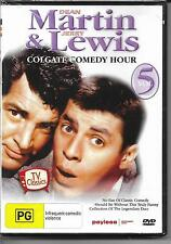 Martin & Lewis Colgate Comedy Hour Vol 5 TV Classics (DVD) B&W NEW & Sealed R4
