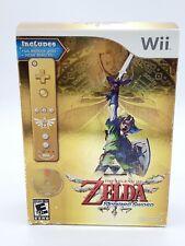 The Legend of Zelda: Skyward Sword Limited Edition (Nintendo Wii, 2011) Box Set