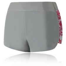 Shorts de fitness gris pour femme