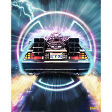 Back to the Future Outatime Sam Gilbey Limited Edition Fine Art Giclee Liicensed