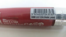 Rimmel Stay Glossy up to 6hr Lip Gloss Choose Your Colour 330 Lily on Park Lane