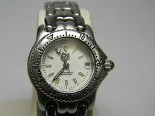 Tag Heuer Ladies Link Professional, small and dainty, White Dial