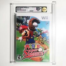 MARIO SUPER SLUGGERS - VGA U85+ (GOLD) Factory Sealed Nintendo Wii 2008