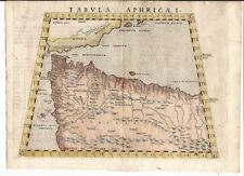 Antique map, Tabula Aphricae I.