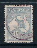 Australia - 1915 - 1sh Blue-Grey Kangaroo - Perf 12 - SC 50[SG 40] USED T1