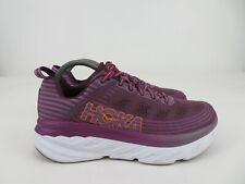 Hoka One One Bondi 6 Purple Running Athletic Shoes Womens Size 10