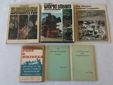 LOT of 6 Railroad Train Books: Hoot Toot & Whistle, Toonervilles, NYSR and more