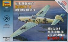 Zvezda 1/72 Messerschmitt Bf109 F-2 snap together # 7302