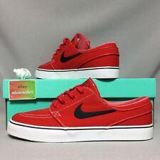 Nike SB Zoom Stefan Janoski CNVS UK8 615957-603 EUR42.5 US9 2015 DS red canvas