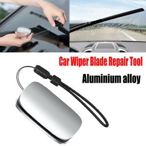 Car Windshield Strip Blade Trimmer Repair Tool Rain Wing Polish Cutter Flat Kit