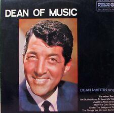 DEAN MARTIN The Dean Of Music LP  SirH70