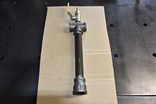 "Gas propane burner for blacksmiths forge, furnace. 3/4"" with ball valve."
