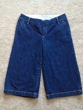 Women's GAP Size 12 Denim Mid-Rise Capri Pants