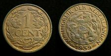 Netherlands - 1 Cent 1939 UNC originele muntkleur