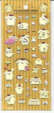 Sanrio Pom Pom Purin Puffy Stickers