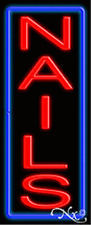 """BRAND NEW /""""TANNING/"""" 24x8x3 VERTICAL REAL NEON SIGN W//CUSTOM OPTIONS 12305"""