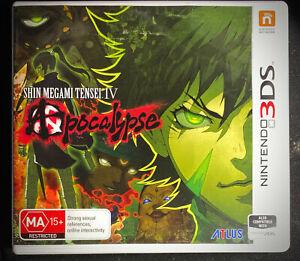 Shin Megami Tensei IV: Apocalypse (3DS; PAL region; CIB)