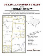 Texas Land Survey Maps for Cooke County (Paperback or Softback)