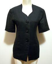 LUISA SPAGNOLI Giacca Donna Lino Flax Woman Jacket Sz.M - 44