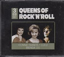QUEENS OF ROCK 'N' ROLL - VARIOUS on 3 CD's -  NEW -