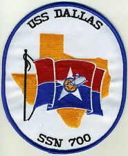 USS Dallas SSN 700 BC Patch Cat. No. C6102