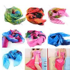 Women Chiffon Beach Bikini Cover Up Wrap Scarf Swimwear Sarong Dress Pareo