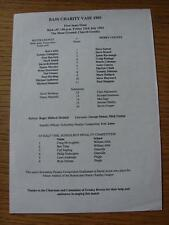 23/07/1993 Bass Charity Vase Semi-Final: Notts County v Derby County [At Gresley