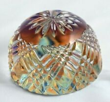 Vintage 24% Lead Oxide Crystal Paperweight Hand Cut Made in Germany