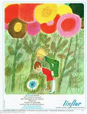 PUBLICITE ADVERTISING 115  1966   Les vetements enfants LINFLOR  FLorette