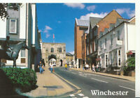 Hampshire Postcard - The High Street & West Gate - Winchester - Ref 20926A