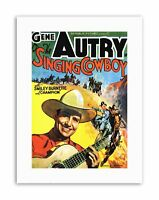 FILM MOVIE SINGING COWBOY GENE AUTRY WEST Poster Film Canvas art Prints