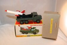 Dinky Toys 620 Berliet Missile Launcher perfect mint in a great box with packing