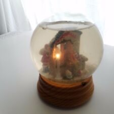 Vintage Large Christmas Snowglobe Plays I'm Dreaming Of A White Christmas Lites