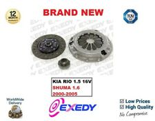 FOR KIA RIO DC 1.5 16V SHUMA FB 1.6 2000-2005 EXEDY 3 PIECE CLUTCH KIT COMPLETE