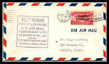 Gp Goldpath: Other Caribbean Country Cover 1930 First Flight Cover _Cv771_P07