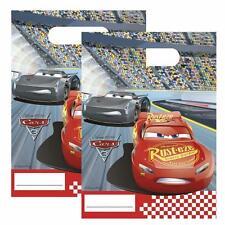 Disney Cars 3 Plástico regalo fiesta bolsas X 6