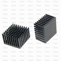2PCS Heatsink 37x37x24MM Aluminum Heatsink Chip for IC LED Power Transistor