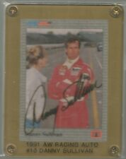 1991 AW Racing Danny Sullivan Autographed Signed Card 1985 Indianapolis 500 Win