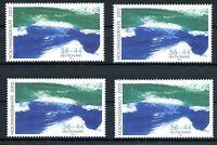 Bund MiNr. 2278 AI, AII, CI, CII postfrisch MNH Hochwasserhilfe 2002 (F452