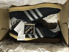 Adidas Stockholm GTX Gortex Black Grey Trainers Size UK 10 US 10.5 BNIBWT AQ5676