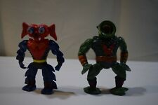 VINTAGE MOTU 1984 MASTERS OF THE UNIVERSE HE- MAN LOT OF 2