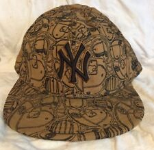 f451527a074 New Era 59FIFTY NYY NEW YORK YANKEES - Gold Cap MLB Baseball Fitted Hat 7 5