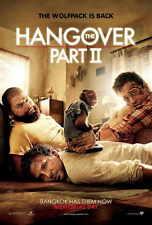 THE HANGOVER 2 Movie POSTER 27x40 Bradley Cooper Jamie Chung Liam Neeson Zach