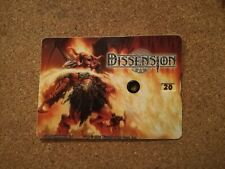 More details for dissension official magic mtg 1 to 30 life counter rare