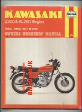 Kawasaki Z200 KL250 (1977 >>) Haynes Shop Manual Repair Book Z 200 KL 250 BX85