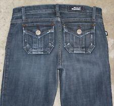 Rock & Republic Scorpion Jeans Sz 26  Low Bootcut w Flap Pocs Distressed
